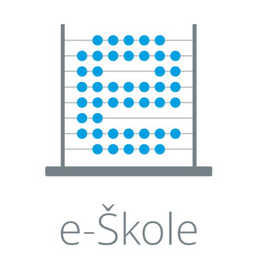logotip projekta e-Skole