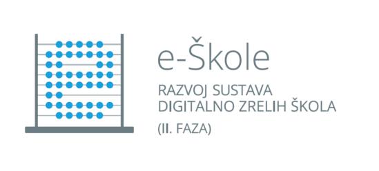 e-Škole: Razvoj sustava digitalno zrelih škola (II. faza) logotip